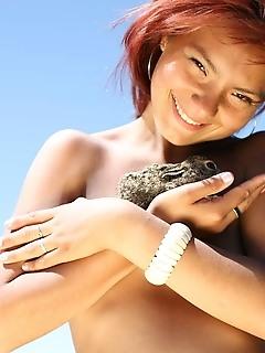 Fascinating hairy teen models agency