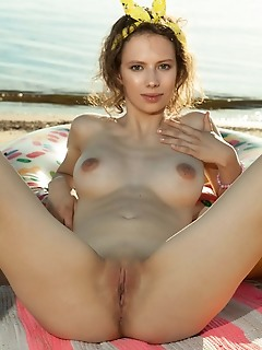 Amazing cutie gets naked