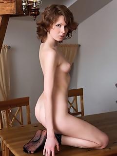 Adult female pics black lingerie tease