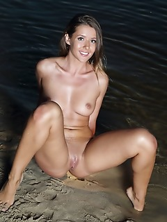 Sybil a gorgeous sybil a shows off her amazing body at the beach.