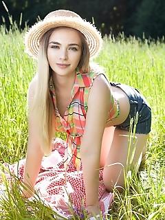 Farmland beauty naked