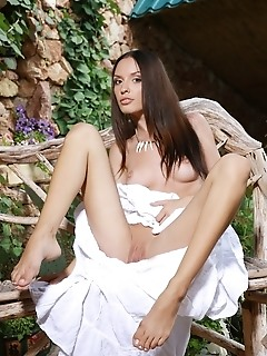 Nicely-toned body, long, slender legs, and perky tits.