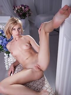 A cute maiden