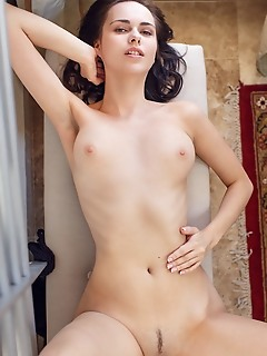 Nasita nasita shows off her sexy body, with beautiful   tits and trimmed pussy.