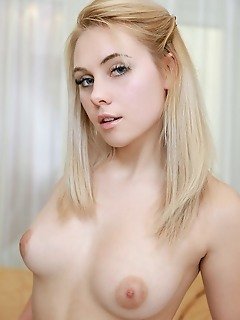 Adenorah blonde bombshell adenorah is a hot newcomer in metart, with cuppable breasts and curvy thighs