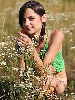 Marvelous teens erotic nude outdoor