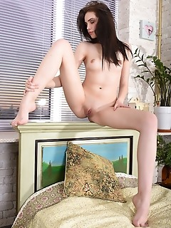 Playing in the bedroom
