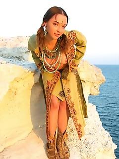 Princess on the beach