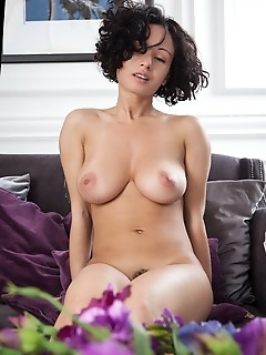 "Pammie lee ""pammie lees magnificent, large breasts with beautiful puffy breasts, sexy hips, and fuzzy thighs, coupled by her sweet smile"""