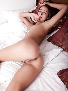 Hot babe posing
