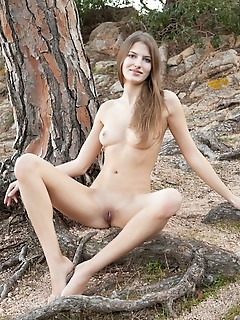 Teen spreading legs