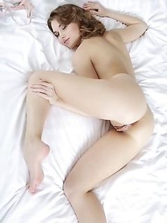 Lots of wide open poses showcasing natalia's puffy pinnk pussy.