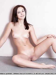 Naturally cute newcomer with fresh and supple details.