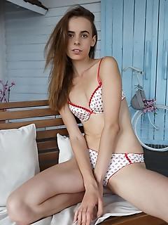 Getting rid of her undies