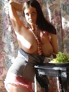 Sexy busty woman
