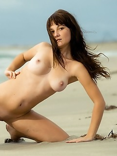 Sexy chick on the beach