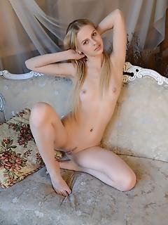Artistic blonde