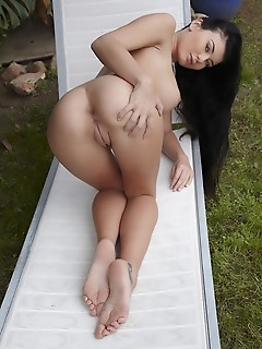 "Lucy li ""lucy lis breathtaking curves starting with her beautiful breasts, slender waist, meaty ass, and sexy feet is a sight to behold"""