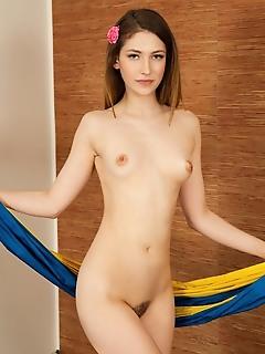 Sweet model goes horny