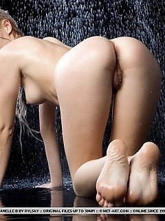 Wet and sensual with lots of artistically erotic poses.