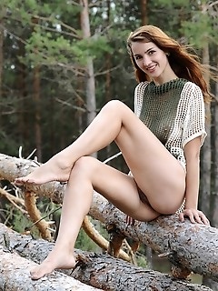 Impressive display of ravishing, exotic beauty in an exotic outdoor shoot.