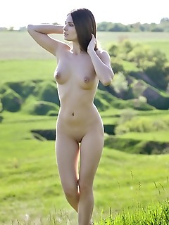 Perfect girl outdoor