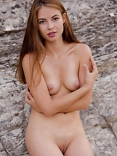 """Hilary c """"hilary c sensuous curves and smooth body stands out in the rugged landscape"""""""